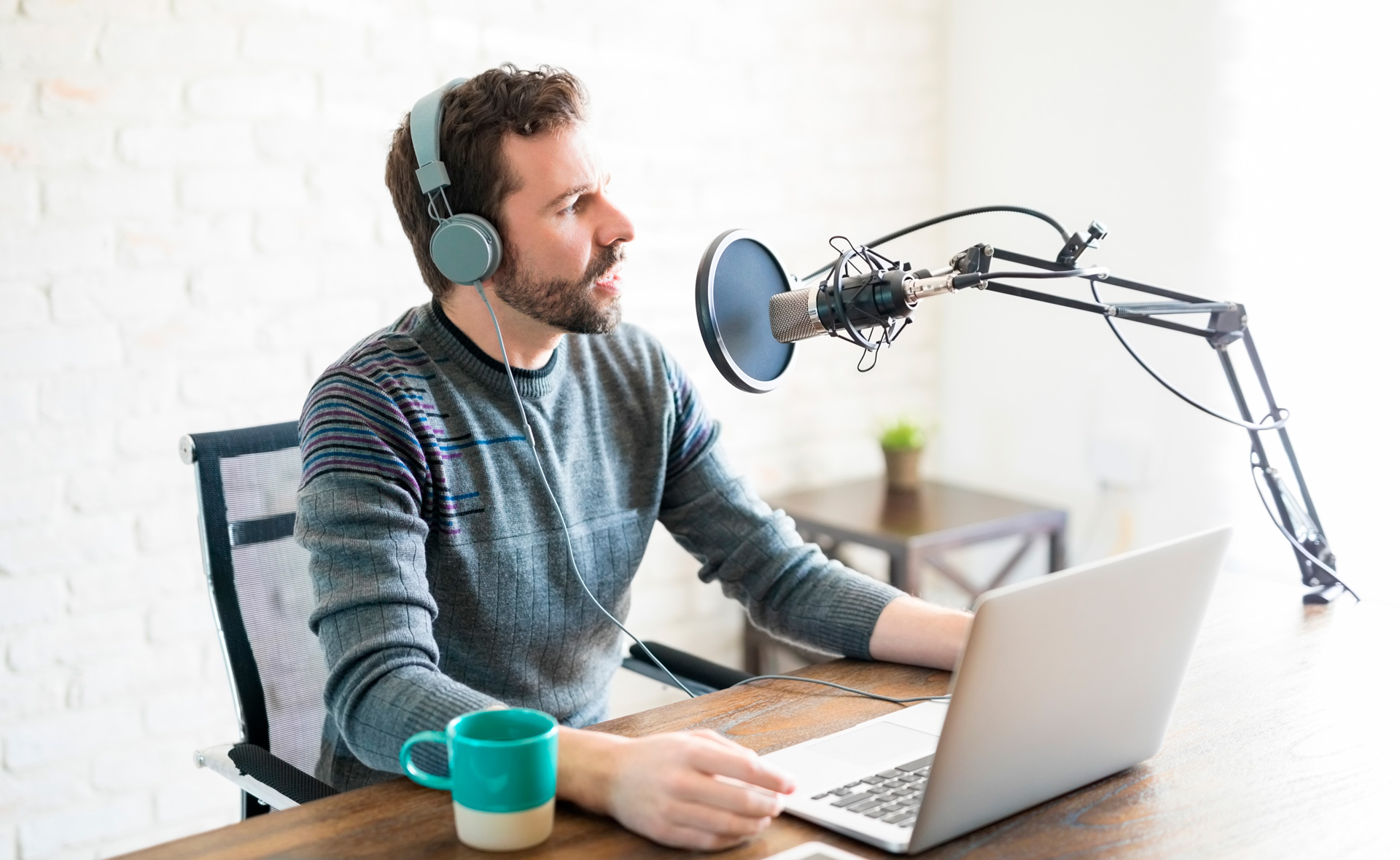 How to create a Podcast program